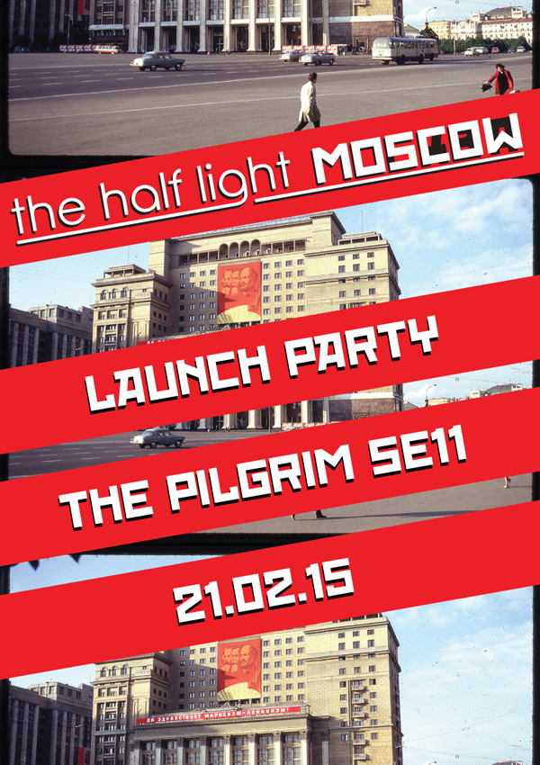 Moscow Launch Flyer