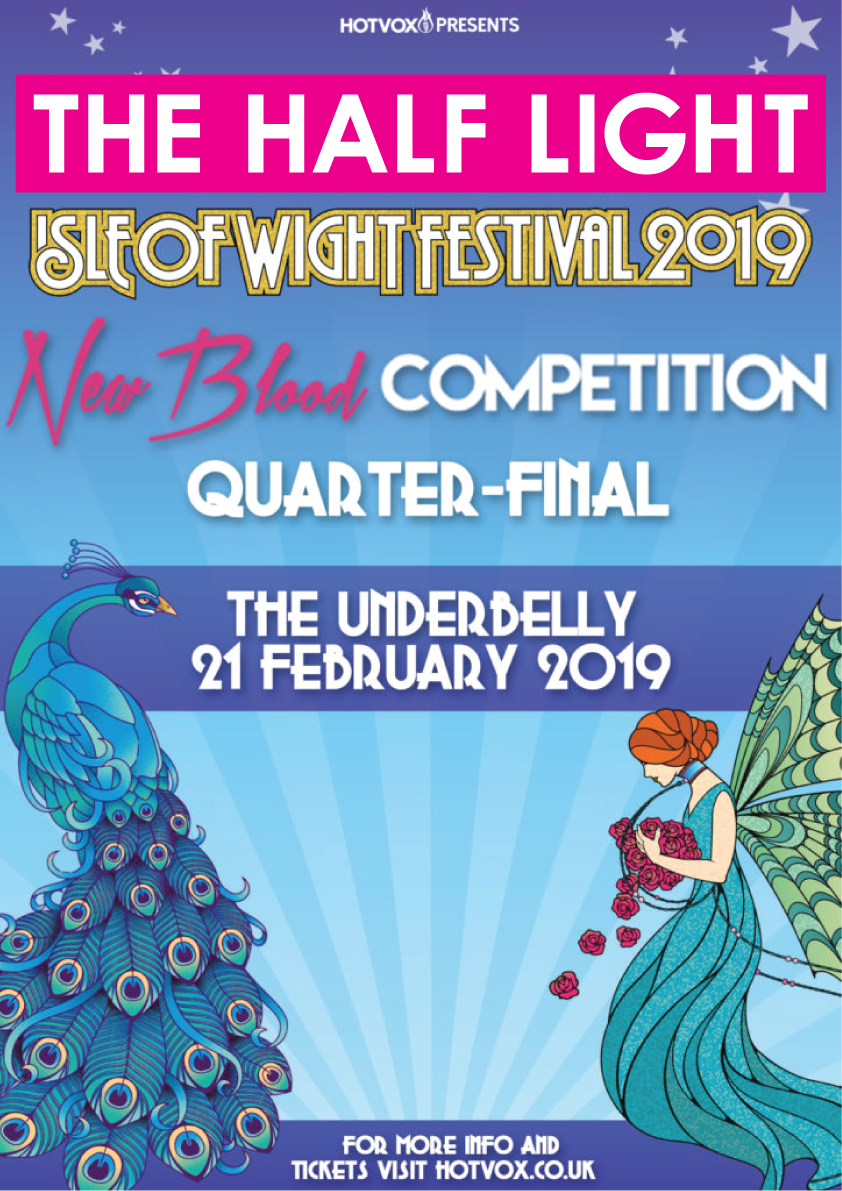 Isle of Wight Festival Quarter Final Flyer